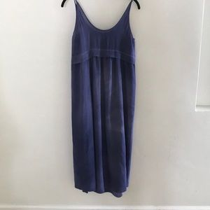 Aritzia Wilfred silk crepe dress with lining XS